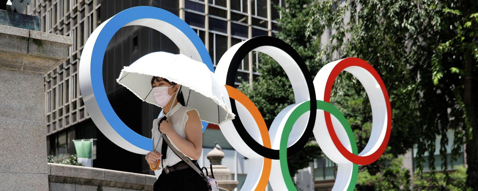 Anillos olímpicos - Sputnik Mundo, 1920, 21.07.2021