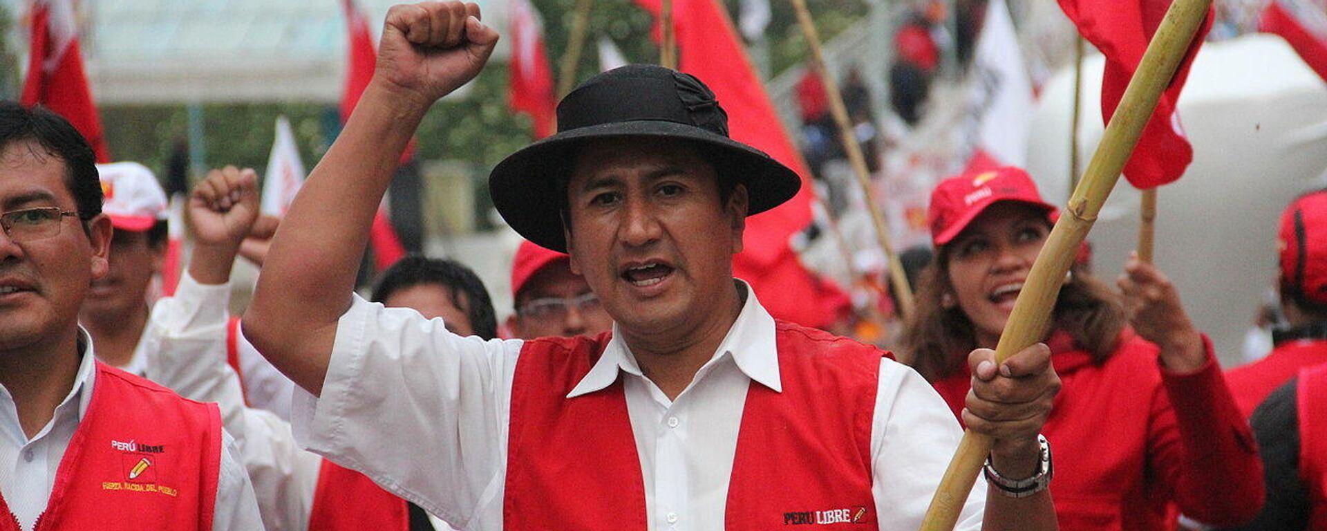 Valdimir Cerrón, líder y fundador de Perú Libre - Sputnik Mundo, 1920, 28.07.2021