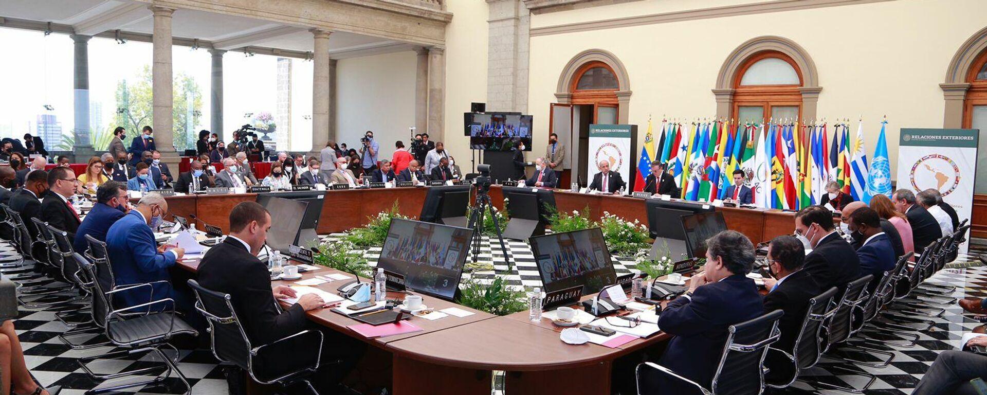 La reunión de cancilleres de la CELAC en Ciudad de México - Sputnik Mundo, 1920, 17.09.2021