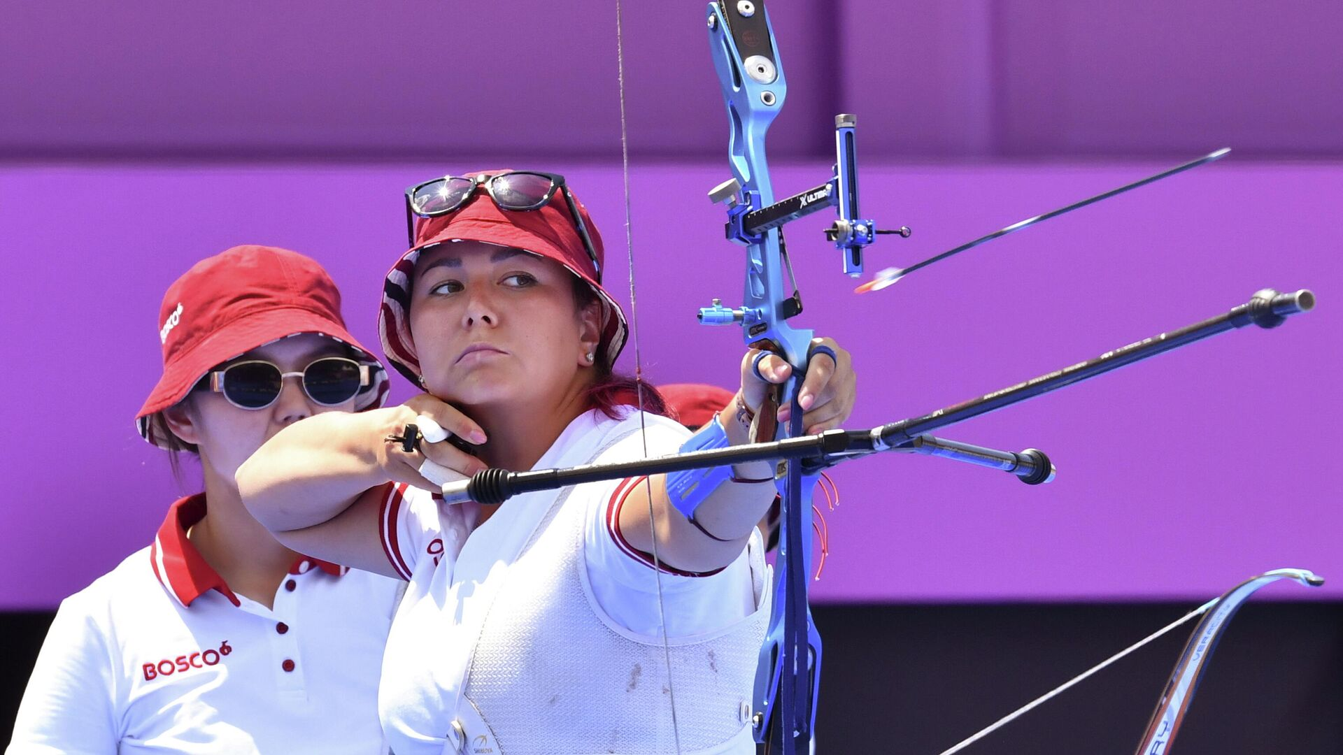 Elena Osipova, miembro del equipo femenino de tiro con arco del Comité Olímpico de Rusia  - Sputnik Mundo, 1920, 25.07.2021
