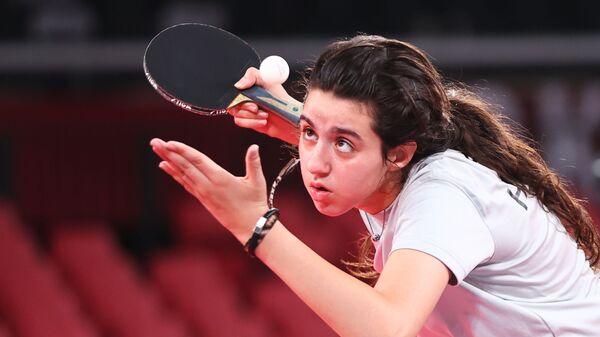 Сирийский игрок в настольный теннис Хенд Заза - Sputnik Mundo