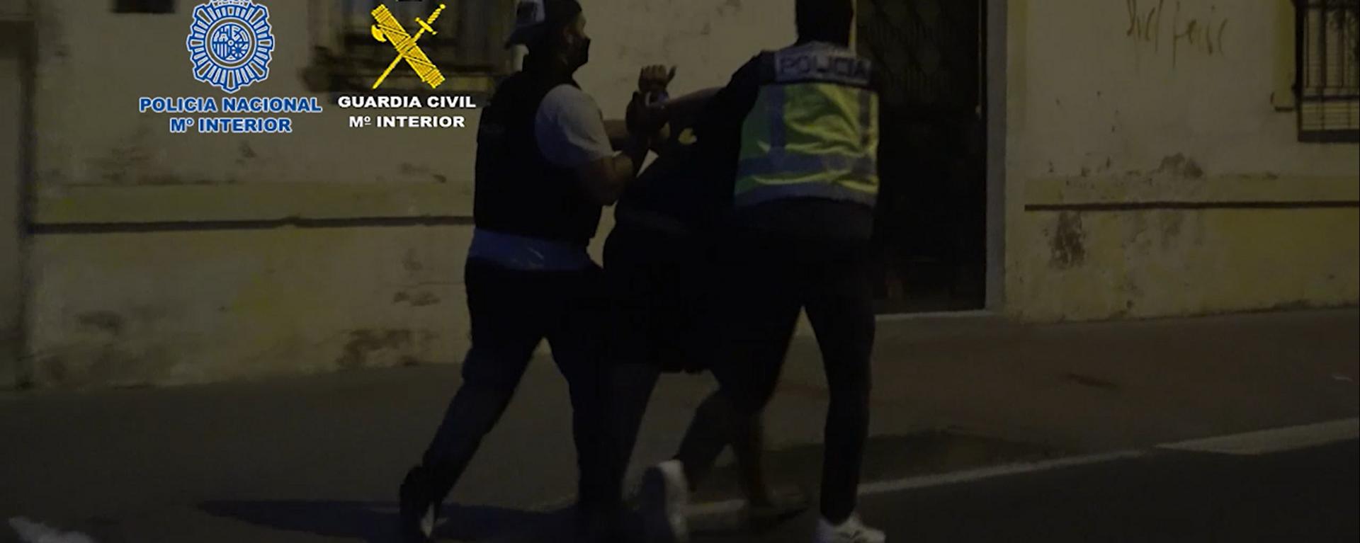 Arresto realizado en Algeciras (Cádiz) contra una de las mayores redes de narcotráfico del Estrecho - Sputnik Mundo, 1920, 27.07.2021