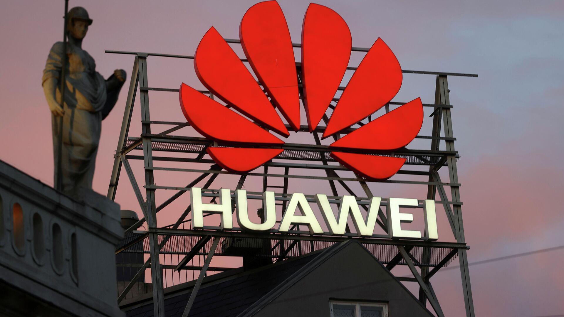 El logotipo de Huawei - Sputnik Mundo, 1920, 28.07.2021