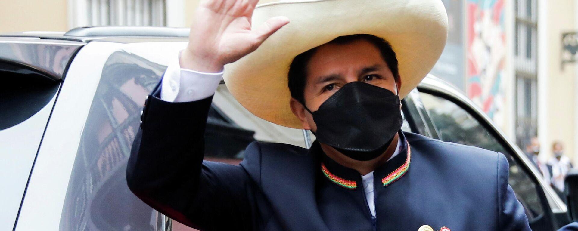Pedro Castillo, el presidente de Perú  - Sputnik Mundo, 1920, 16.08.2021
