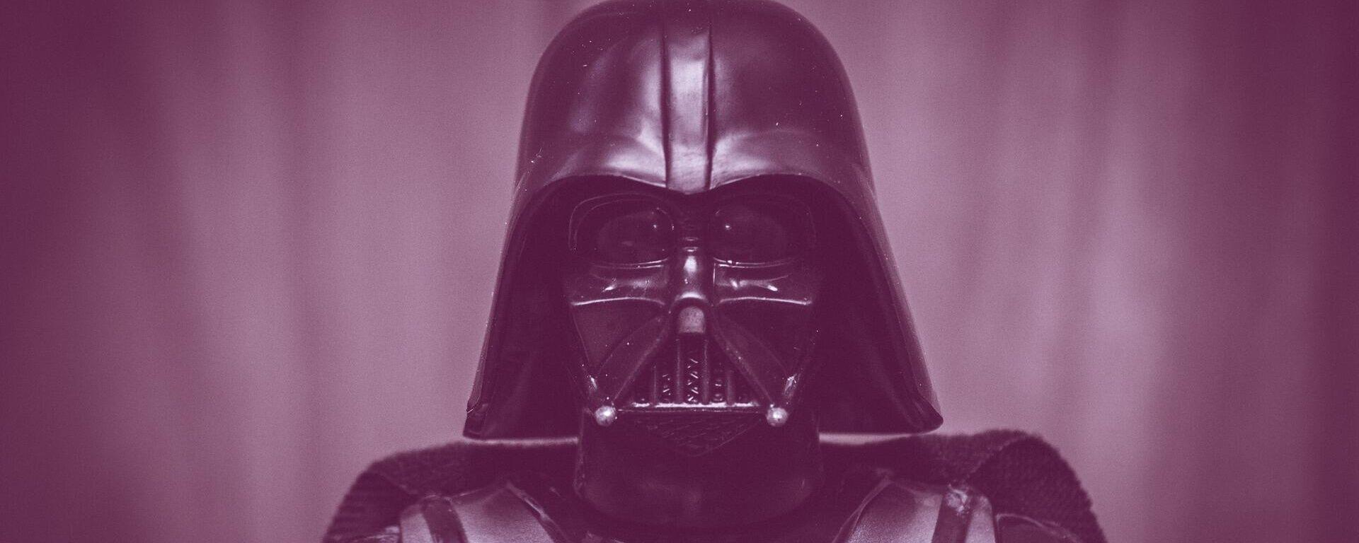Una figura del personaje Darth Vader, de la saga de 'Star Wars' o 'La Guerra de las Galaxias' - Sputnik Mundo, 1920, 28.07.2021