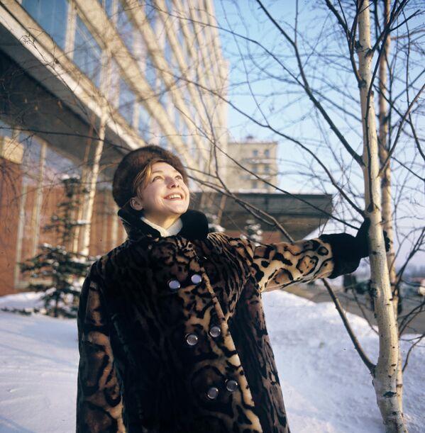 Natalia Kuchínskaya concluyó su carrera poco después del final de los Juegos Olímpicos de 1968. Según contó la propia atleta años más tarde, sencillamente perdió su motivación. - Sputnik Mundo