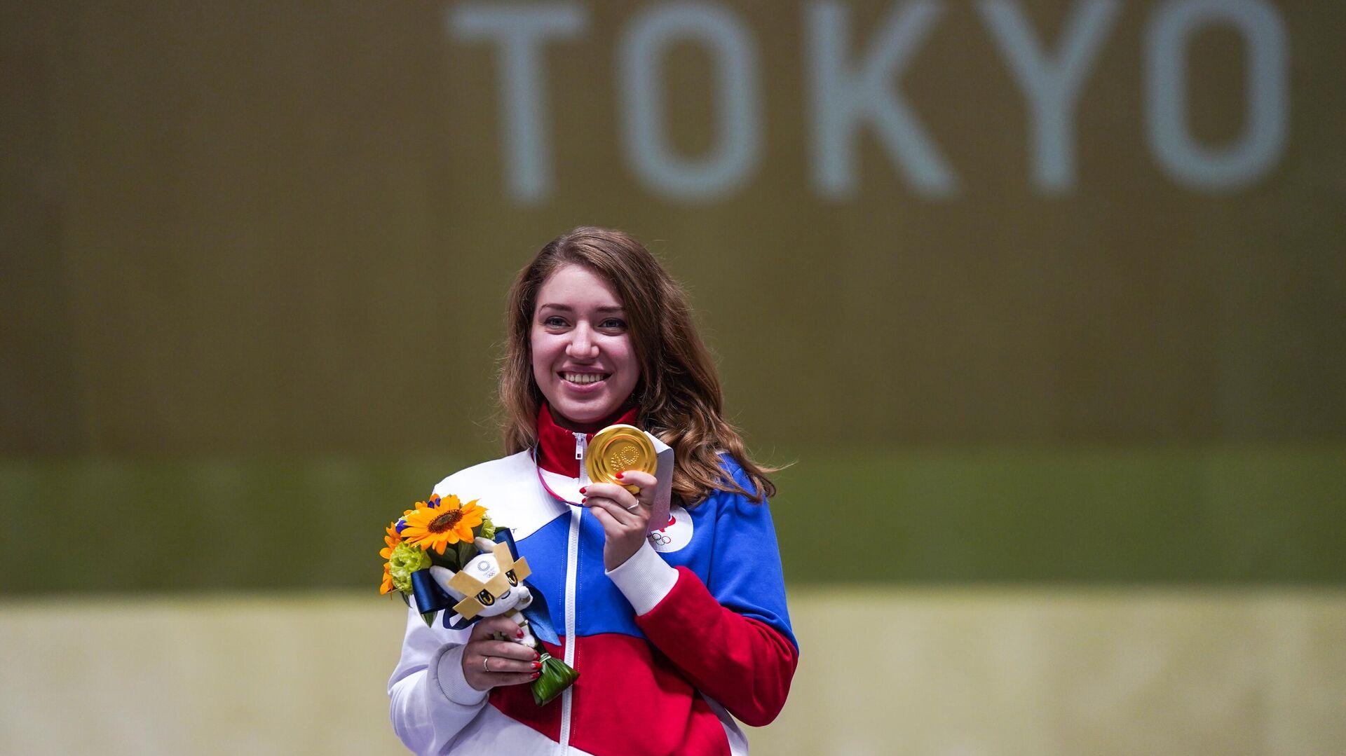 Vitalina Batsarashkina, deportista rusa - Sputnik Mundo, 1920, 30.07.2021