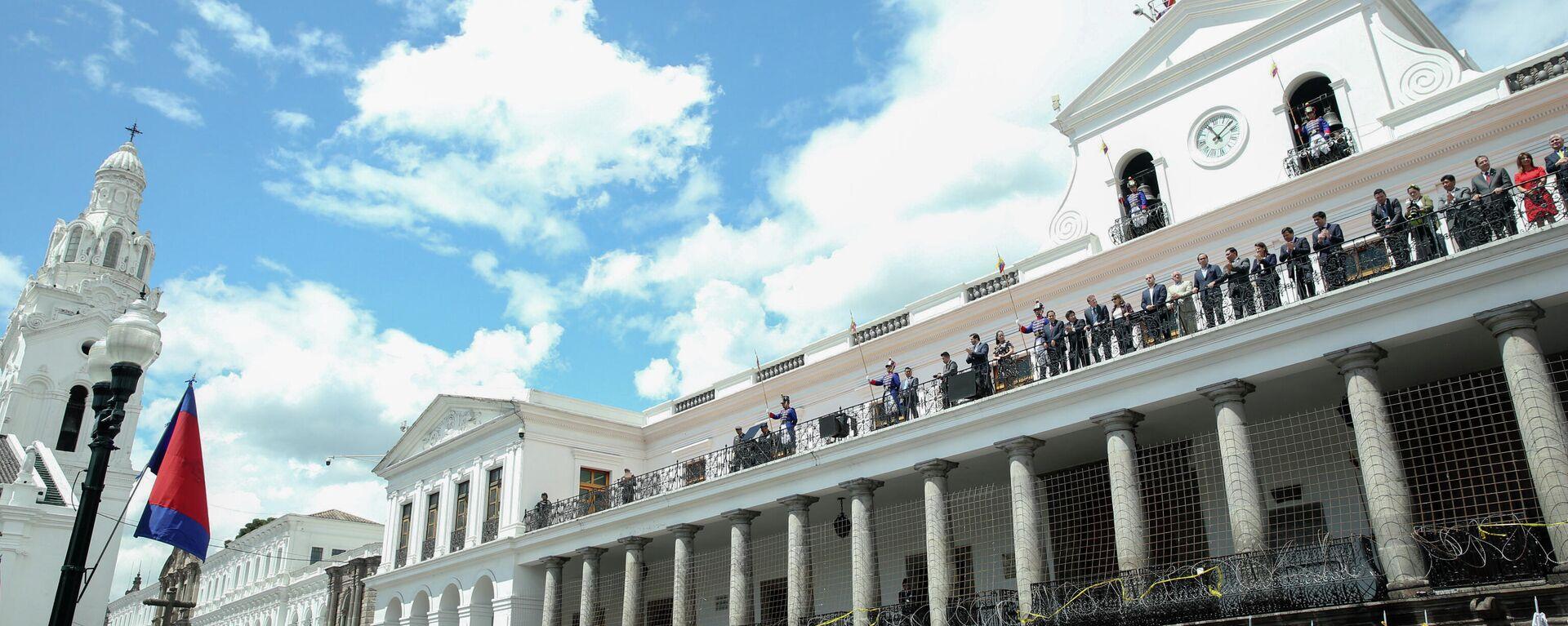 Palacio Carondelet, sede del Gobierno de Ecuador - Sputnik Mundo, 1920, 31.08.2021