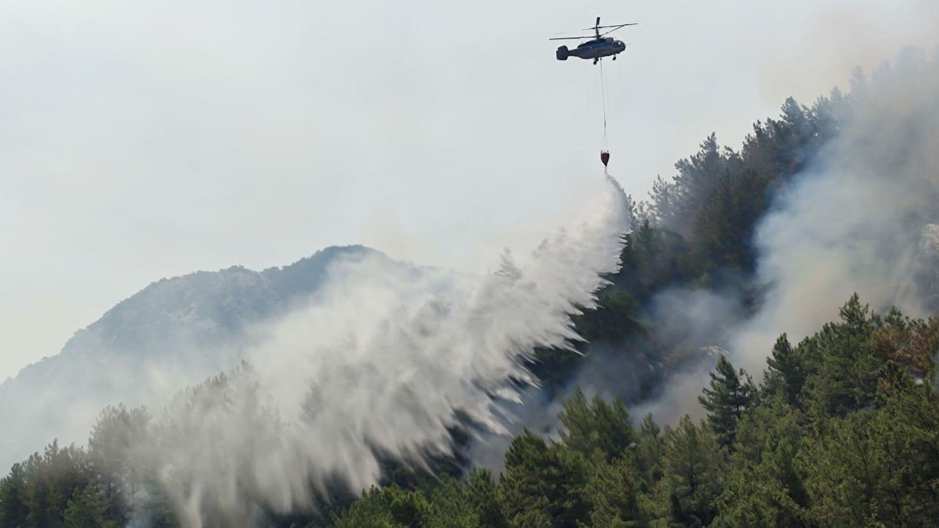 Incendios forestales en Turquía - Sputnik Mundo, 1920, 06.08.2021