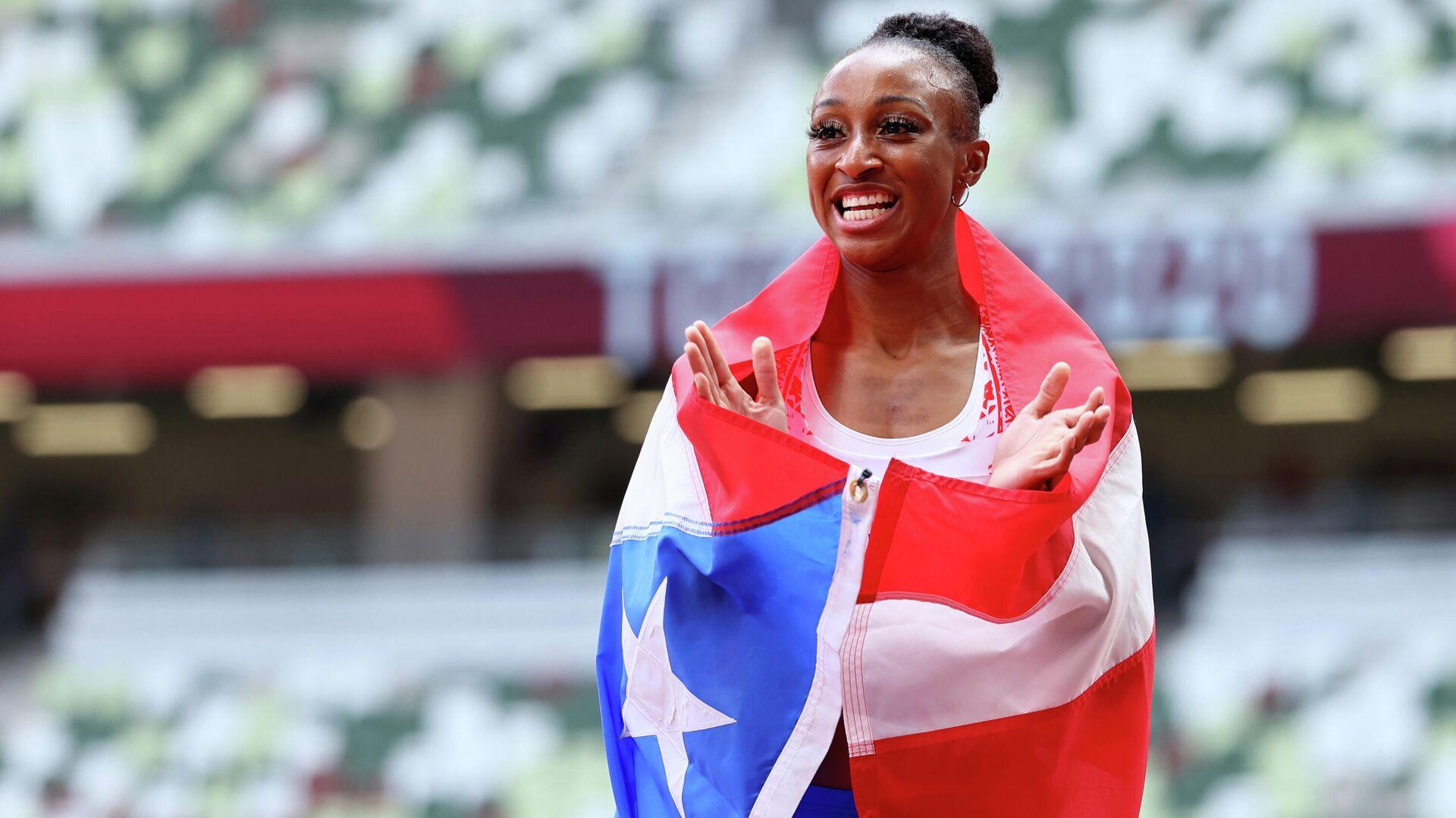 Jasmine Camacho-Quinn, velocista puertorriqueña - Sputnik Mundo, 1920, 02.08.2021