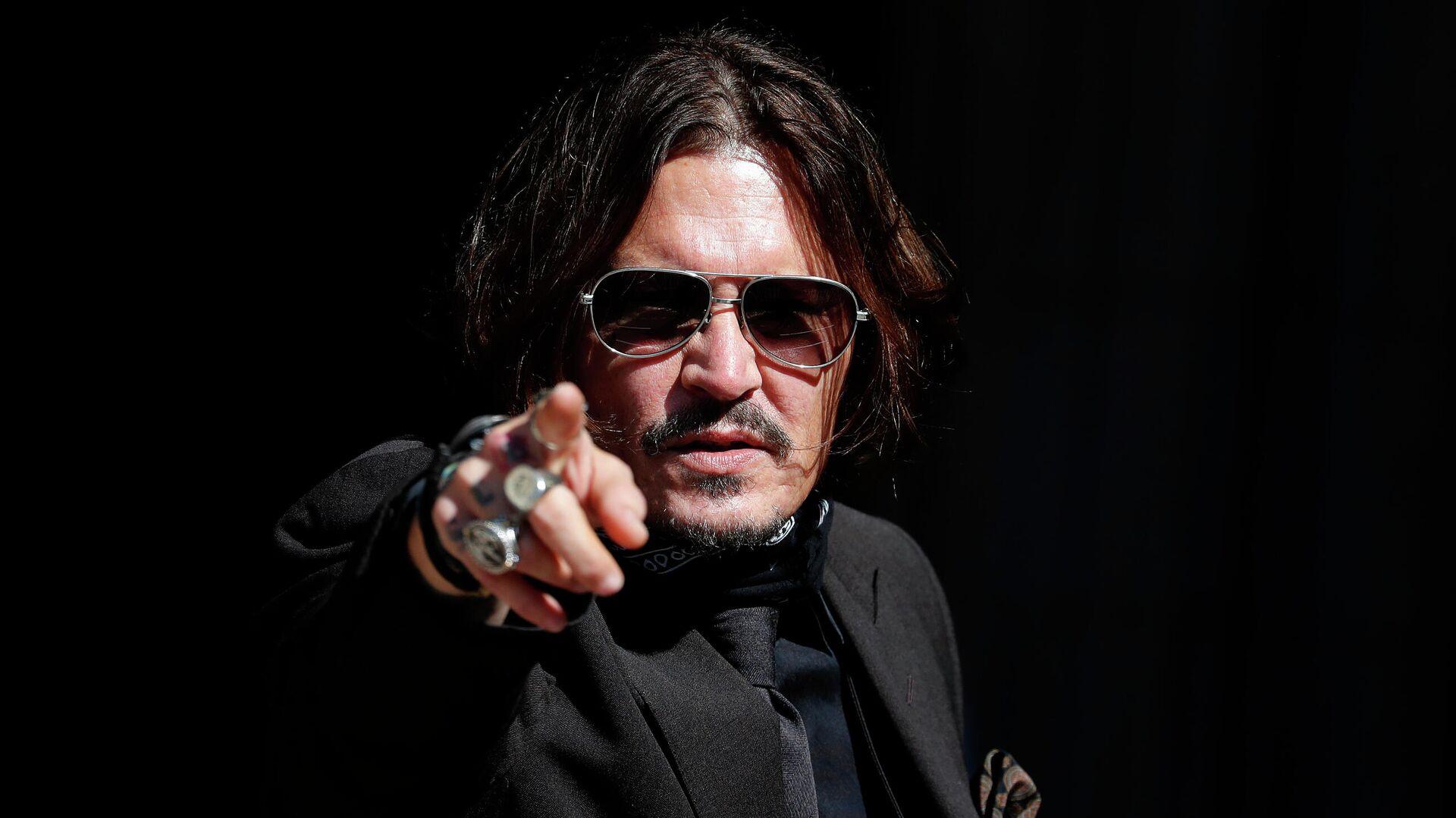 Johnny Depp, actor estadounidense - Sputnik Mundo, 1920, 23.09.2021