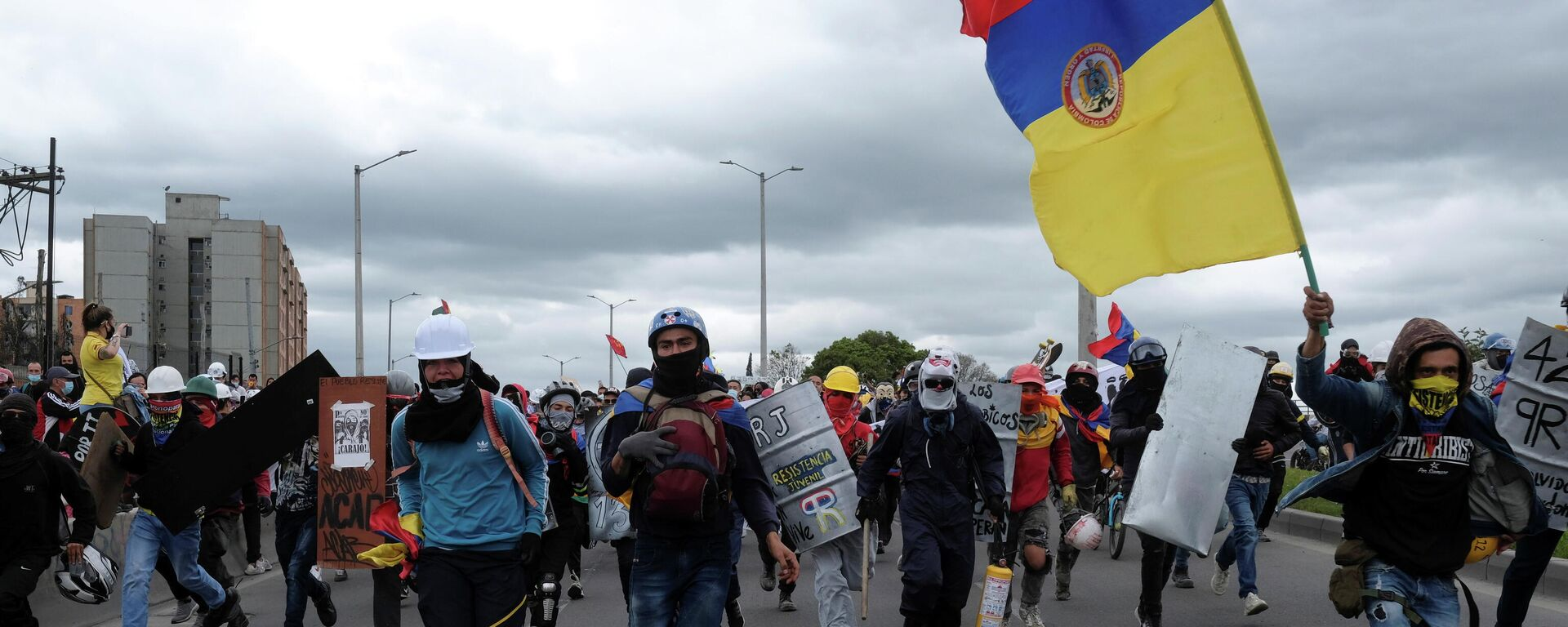 Protestas en Colombia - Sputnik Mundo, 1920, 03.08.2021