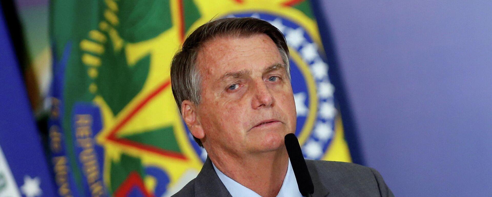 Jair Bolsonaro, presidente de Brasil - Sputnik Mundo, 1920, 19.08.2021