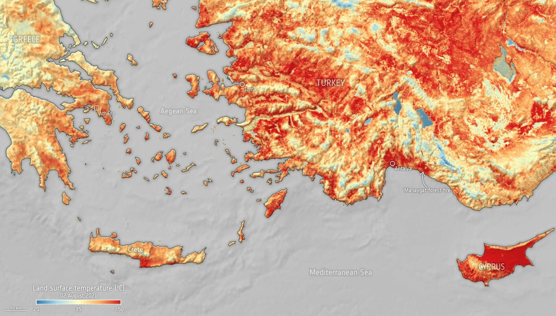El Mediterráneo se cuece - Sputnik Mundo, 1920, 06.08.2021