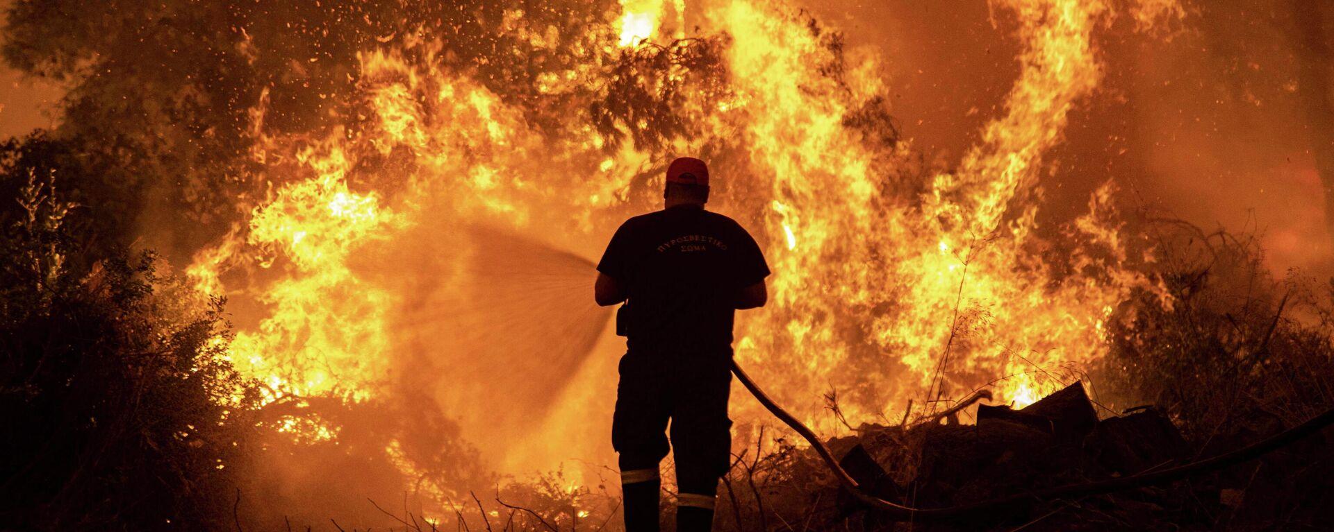 Incendios forestales en Grecia - Sputnik Mundo, 1920, 09.08.2021
