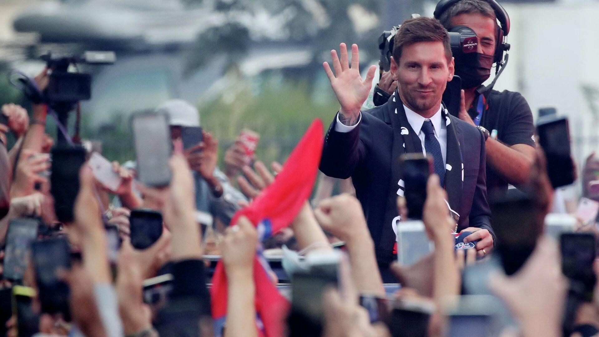 Lionel Messi, futbolista argentino - Sputnik Mundo, 1920, 11.08.2021