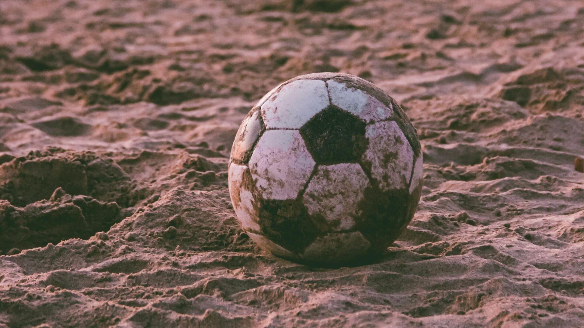 Fútbol playa  (imagen referencial) - Sputnik Mundo, 1920, 30.09.2021