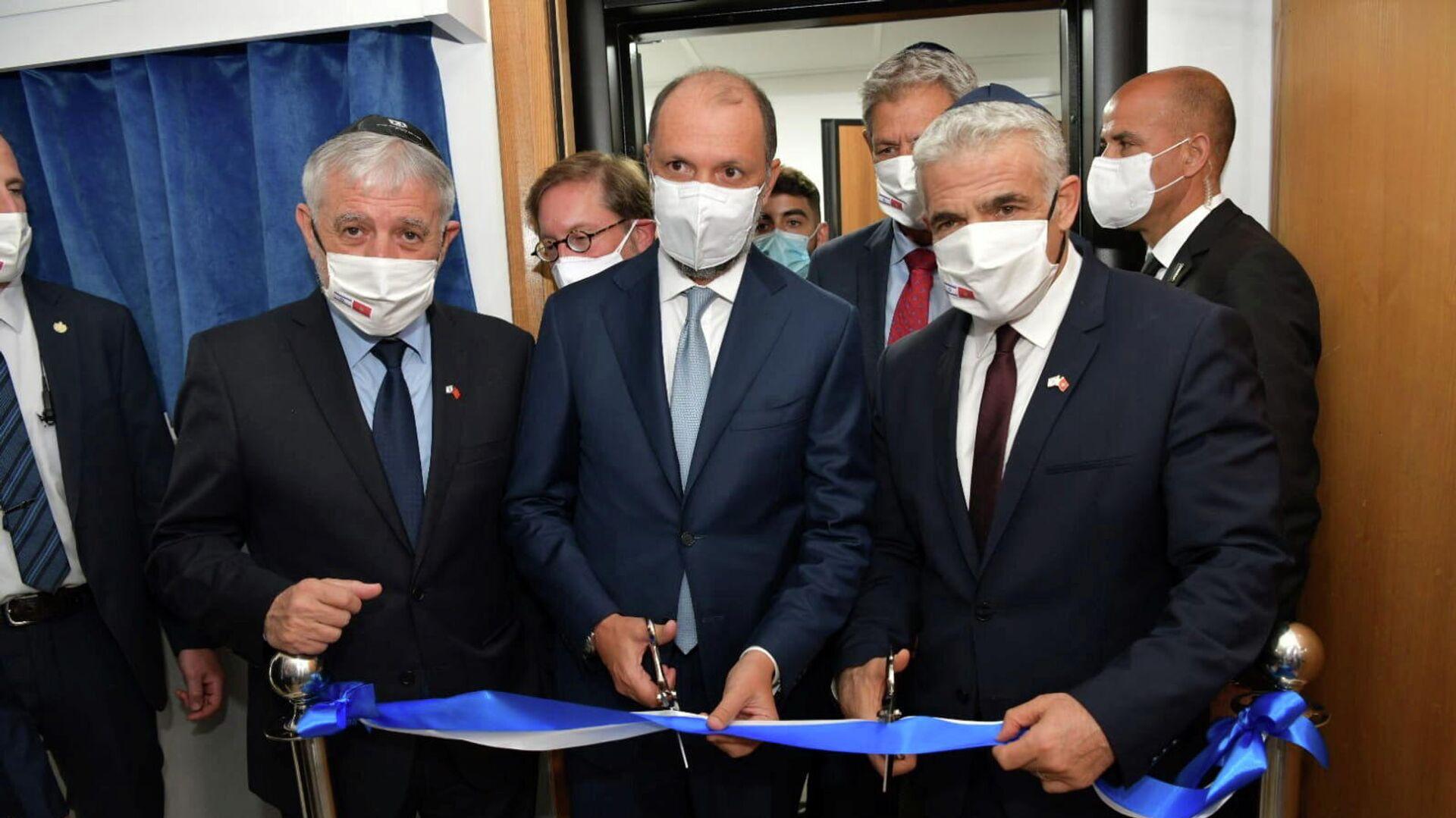 Inauguración de la oficina de enlace israelí en Marruecos - Sputnik Mundo, 1920, 12.08.2021