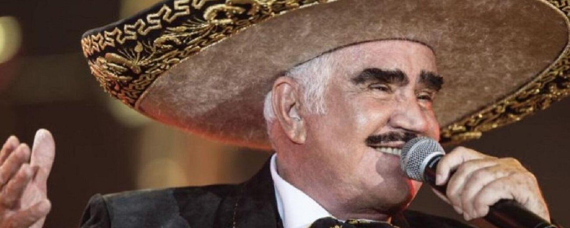 Vicente Fernández, cantante mexicano - Sputnik Mundo, 1920, 12.08.2021