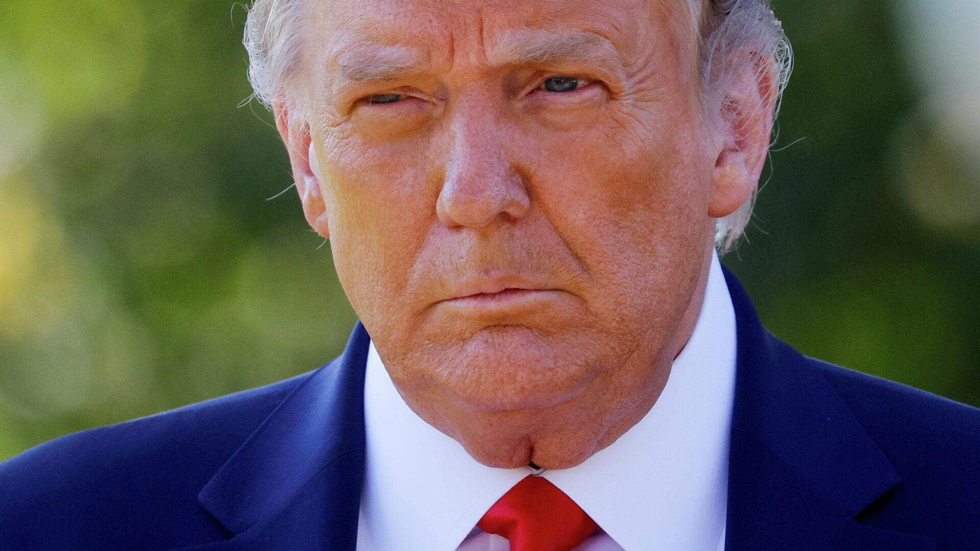 El expresidente de EEUU Donald Trump - Sputnik Mundo, 1920, 30.08.2021