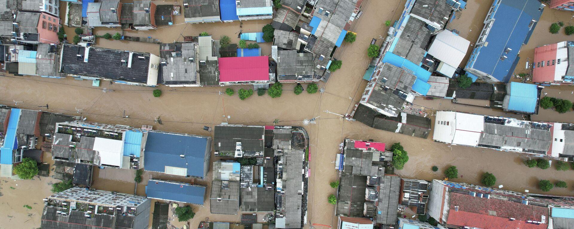 Inundación en China - Sputnik Mundo, 1920, 13.08.2021