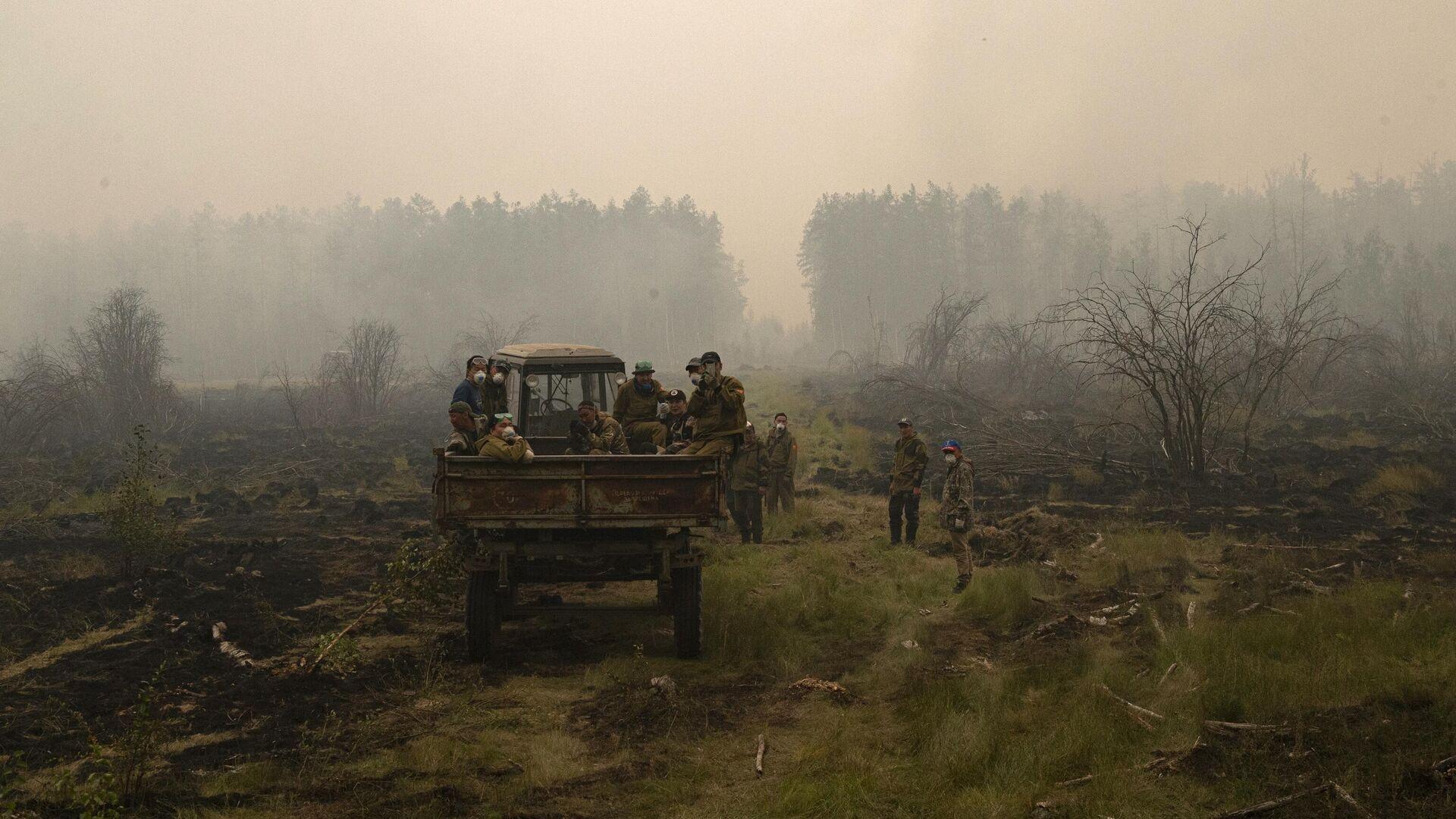 Incendios forestales en Rusia - Sputnik Mundo, 1920, 13.08.2021