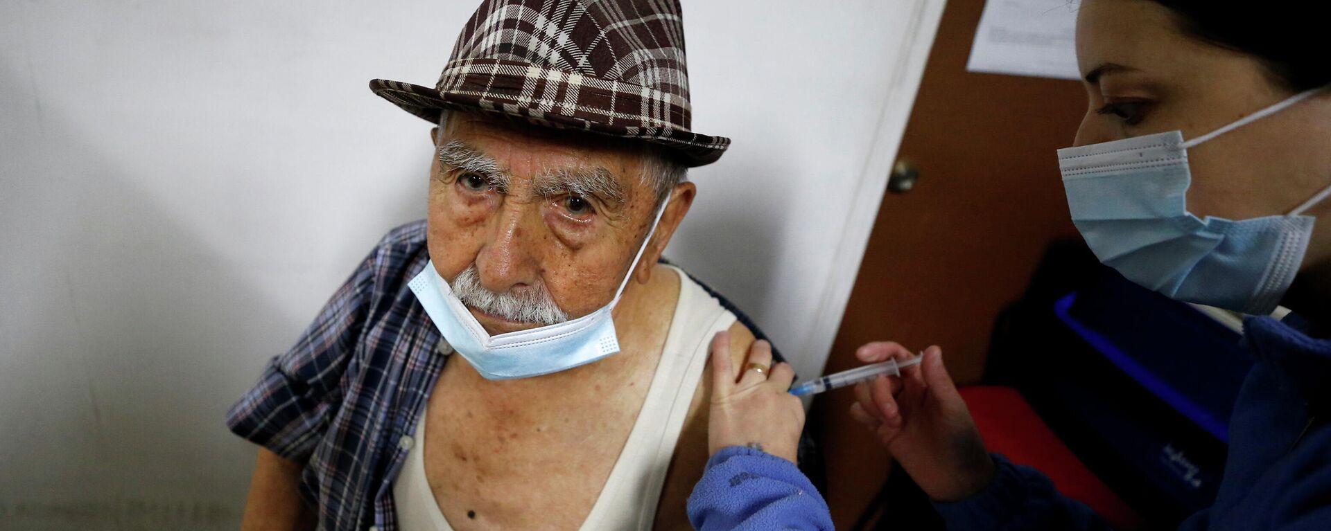 Vacunación en Chile - Sputnik Mundo, 1920, 13.08.2021