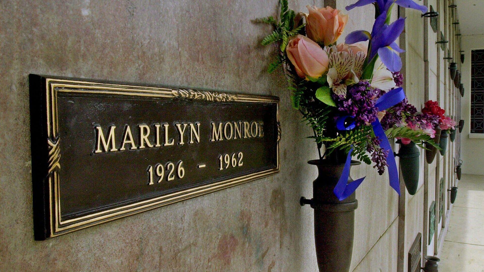 La tumba de Marilyn Monroe - Sputnik Mundo, 1920, 13.08.2021