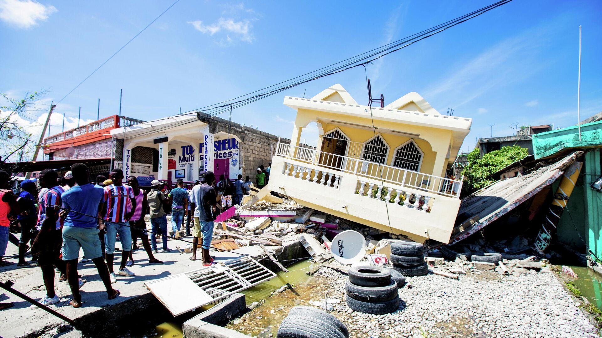 Terremoto en Haití - Sputnik Mundo, 1920, 31.08.2021