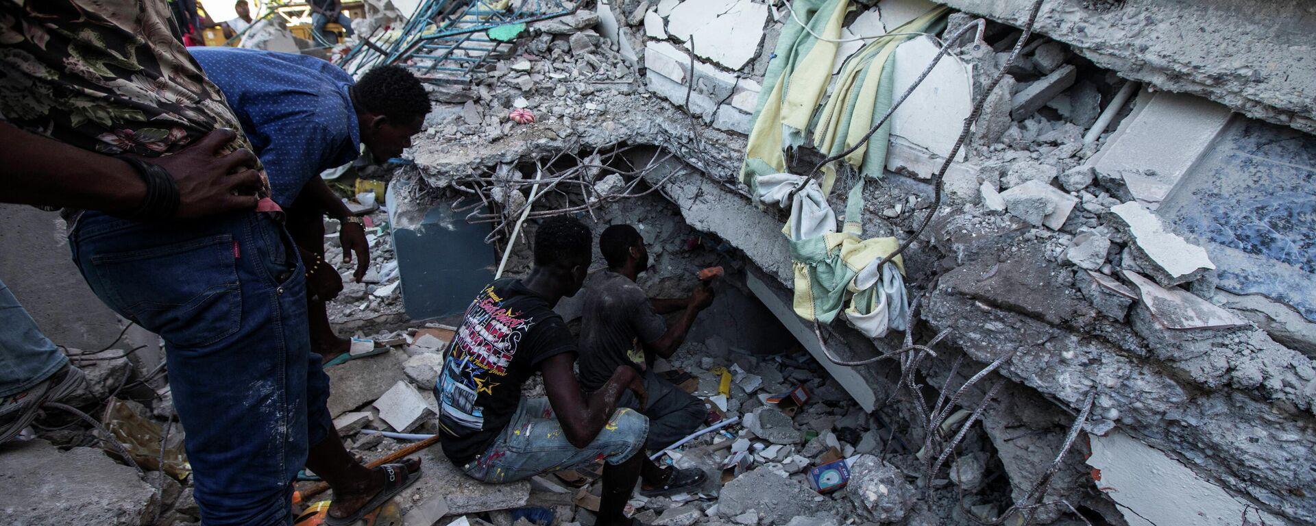 Consecuencias del terremoto en Haití - Sputnik Mundo, 1920, 25.08.2021