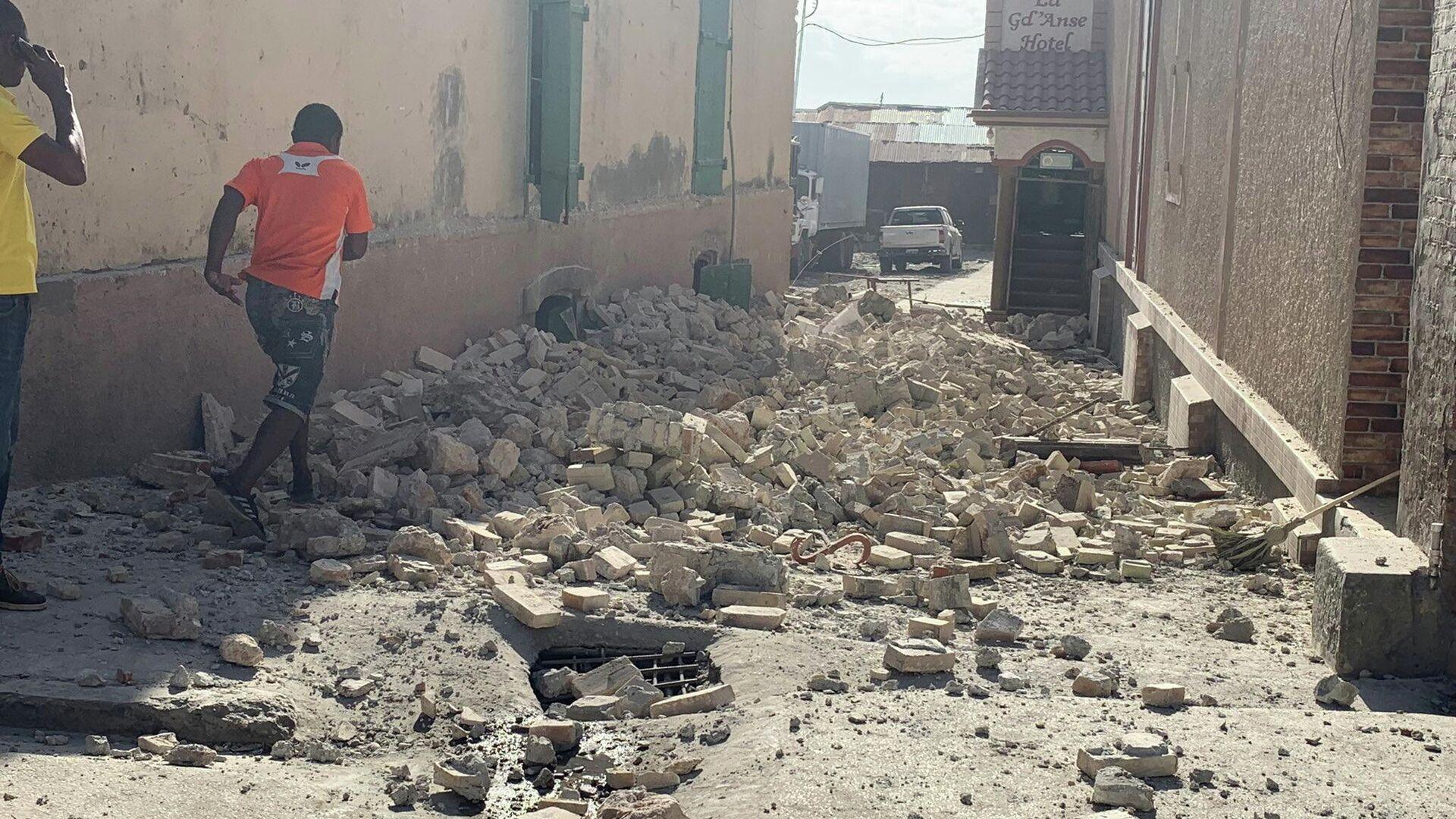El terremoto en Haití - Sputnik Mundo, 1920, 27.08.2021