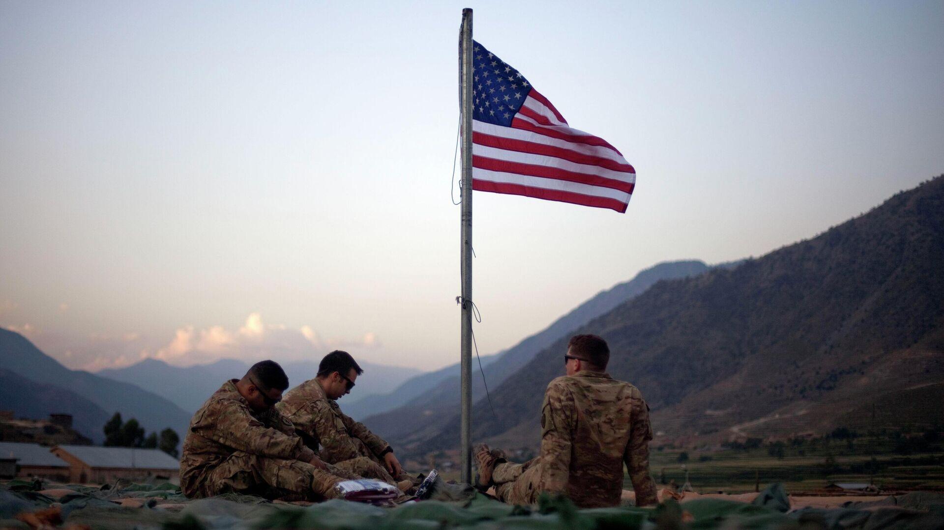 Militares de EEUU en Afganistán - Sputnik Mundo, 1920, 27.09.2021