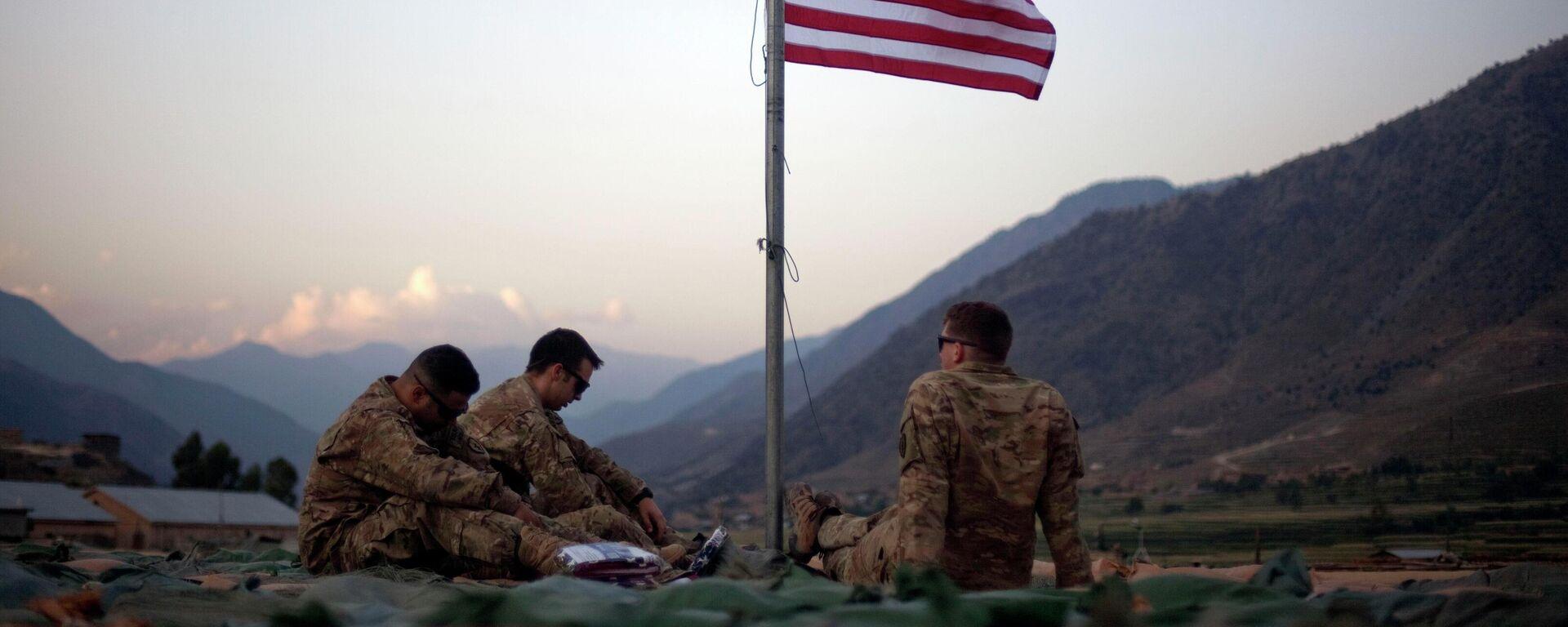 Militares de EEUU en Afganistán - Sputnik Mundo, 1920, 16.08.2021