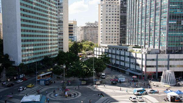 Edificios de oficinas en el centro de Río - Sputnik Mundo