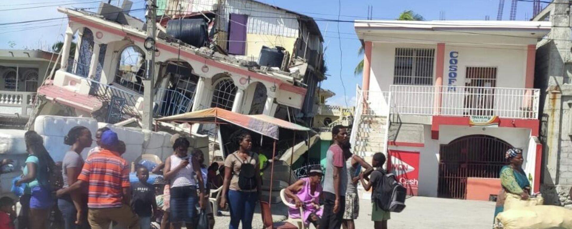 Consecuencias del sismo en Haití - Sputnik Mundo, 1920, 02.09.2021