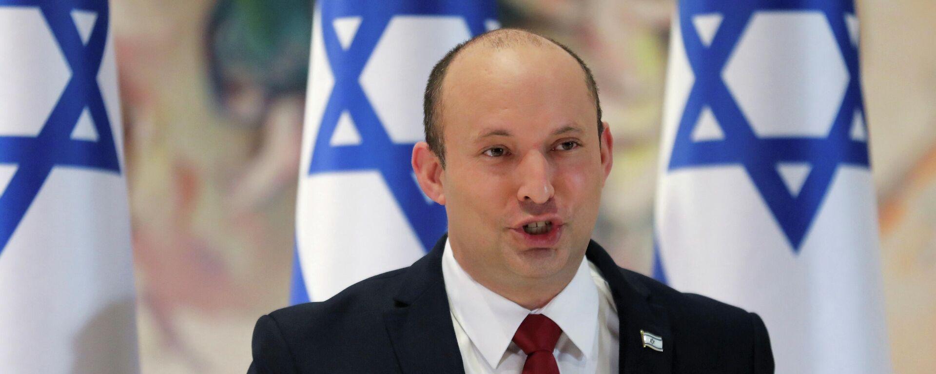 Naftali Bennett, primer ministro de Israel - Sputnik Mundo, 1920, 17.08.2021
