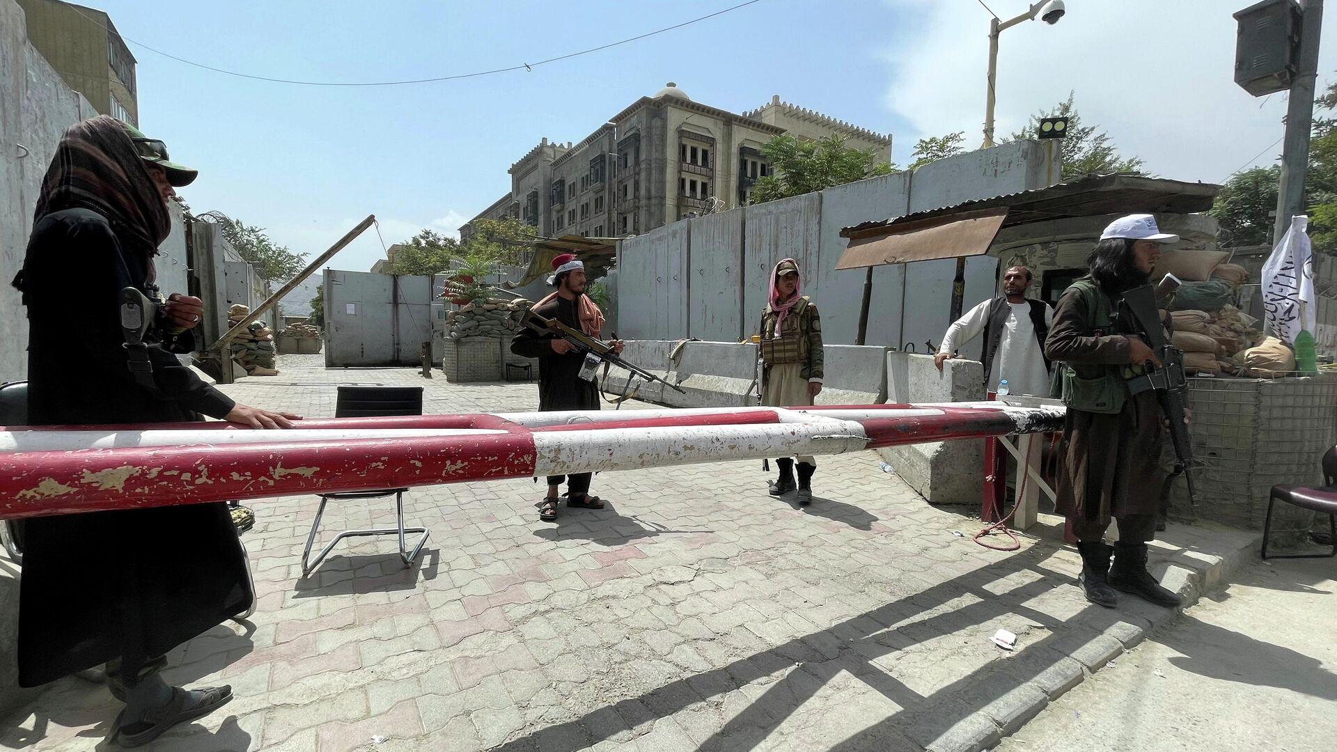 Los talibanes en Kabul - Sputnik Mundo, 1920, 18.08.2021