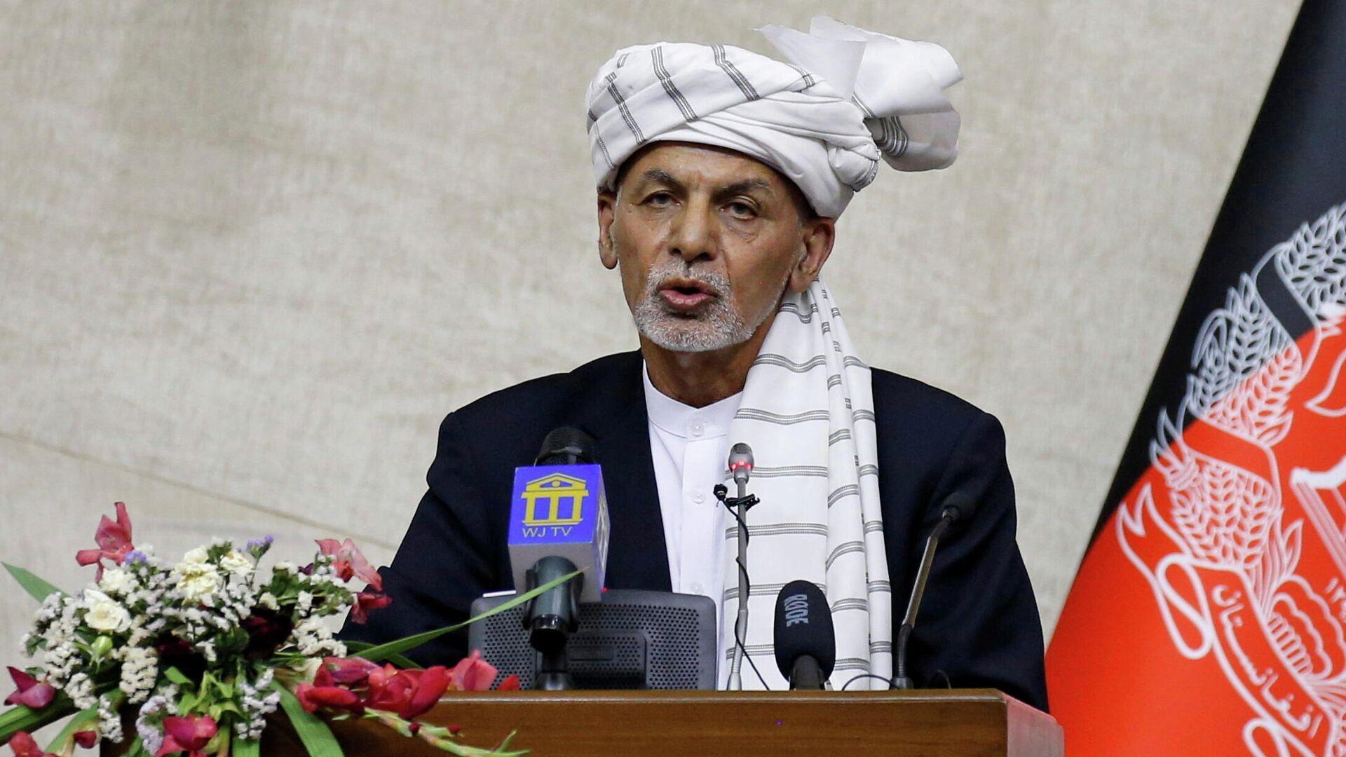 El expresidente afgano Ashraf Ghani - Sputnik Mundo, 1920, 18.08.2021