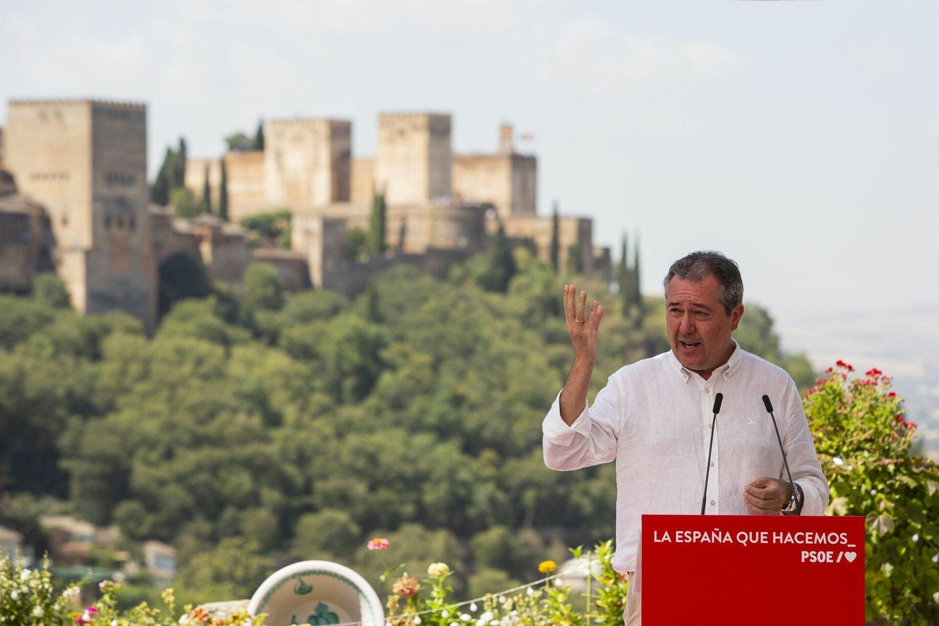 Juan Espadas homenajea a Lorca en Granada - Sputnik Mundo, 1920, 18.08.2021