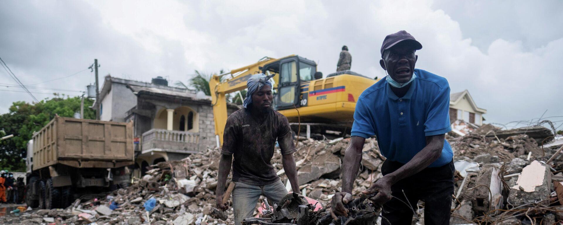 Las consecuencias del terremoto en Haití - Sputnik Mundo, 1920, 06.09.2021