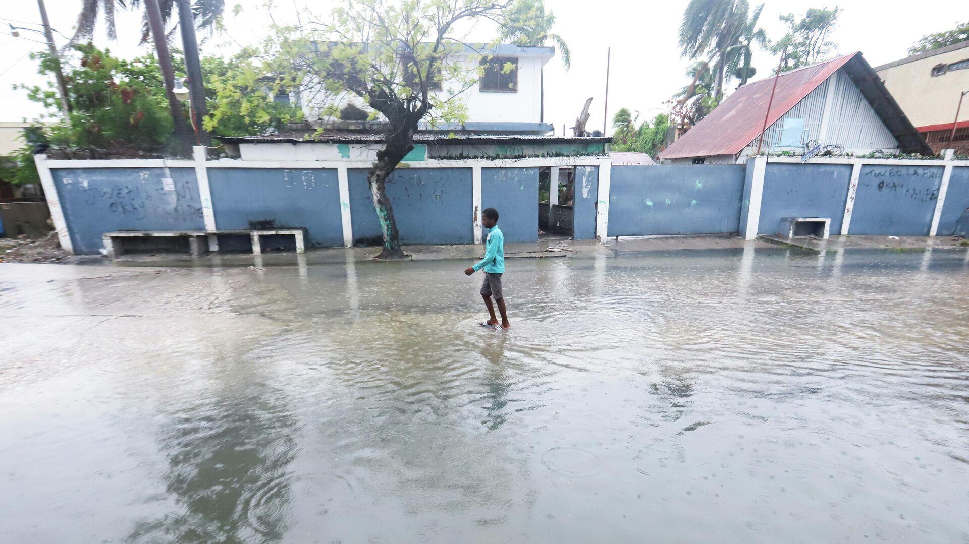 Tormenta tropical Grace en Haití - Sputnik Mundo, 1920, 19.08.2021