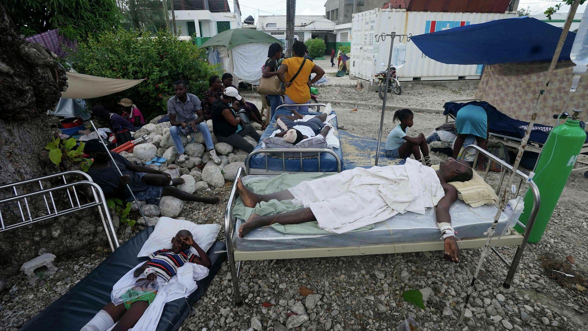 Consecuencia del terremoto en Haití - Sputnik Mundo, 1920, 19.08.2021