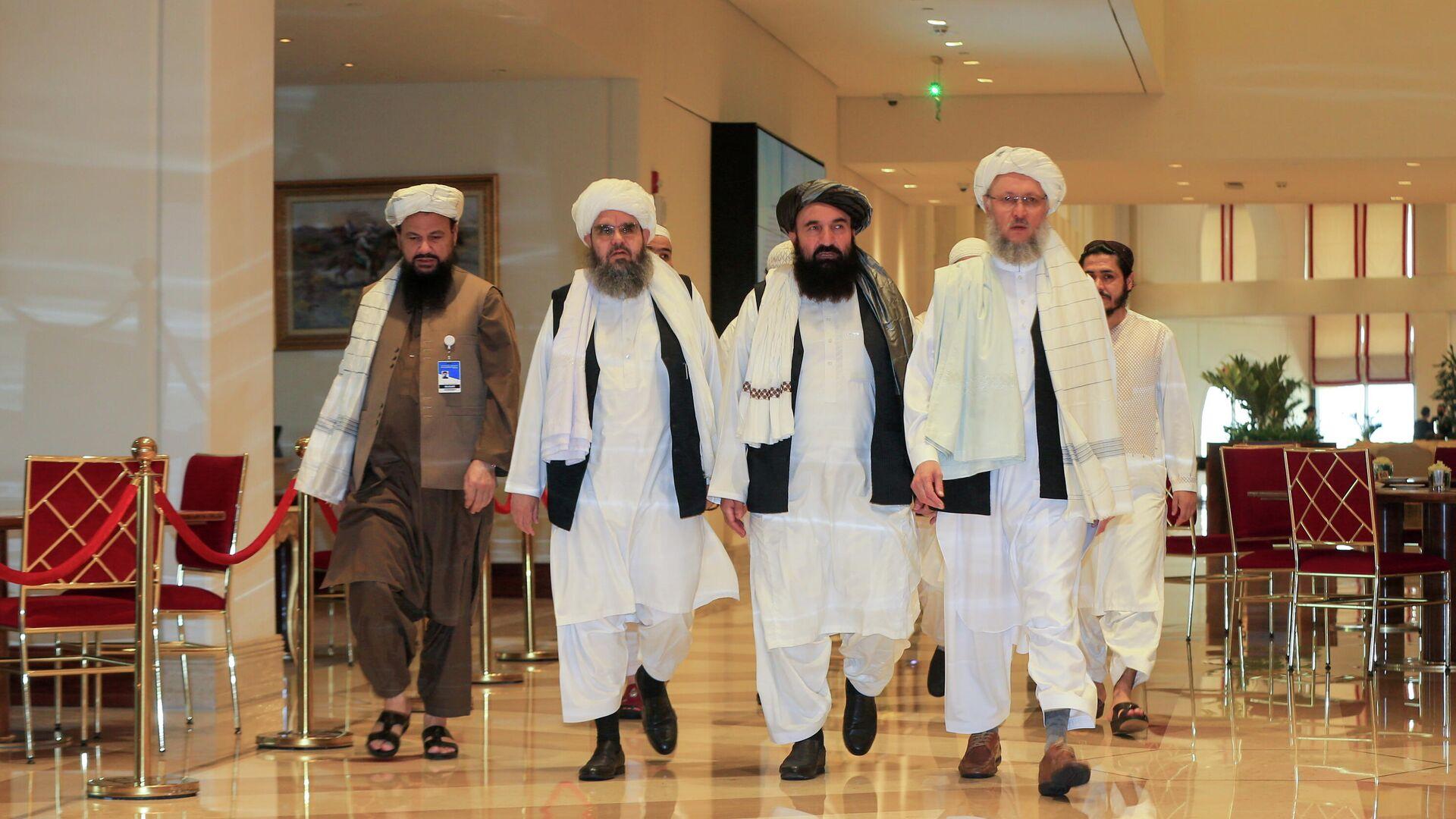 Delegación de talibanes (referencial) - Sputnik Mundo, 1920, 20.08.2021