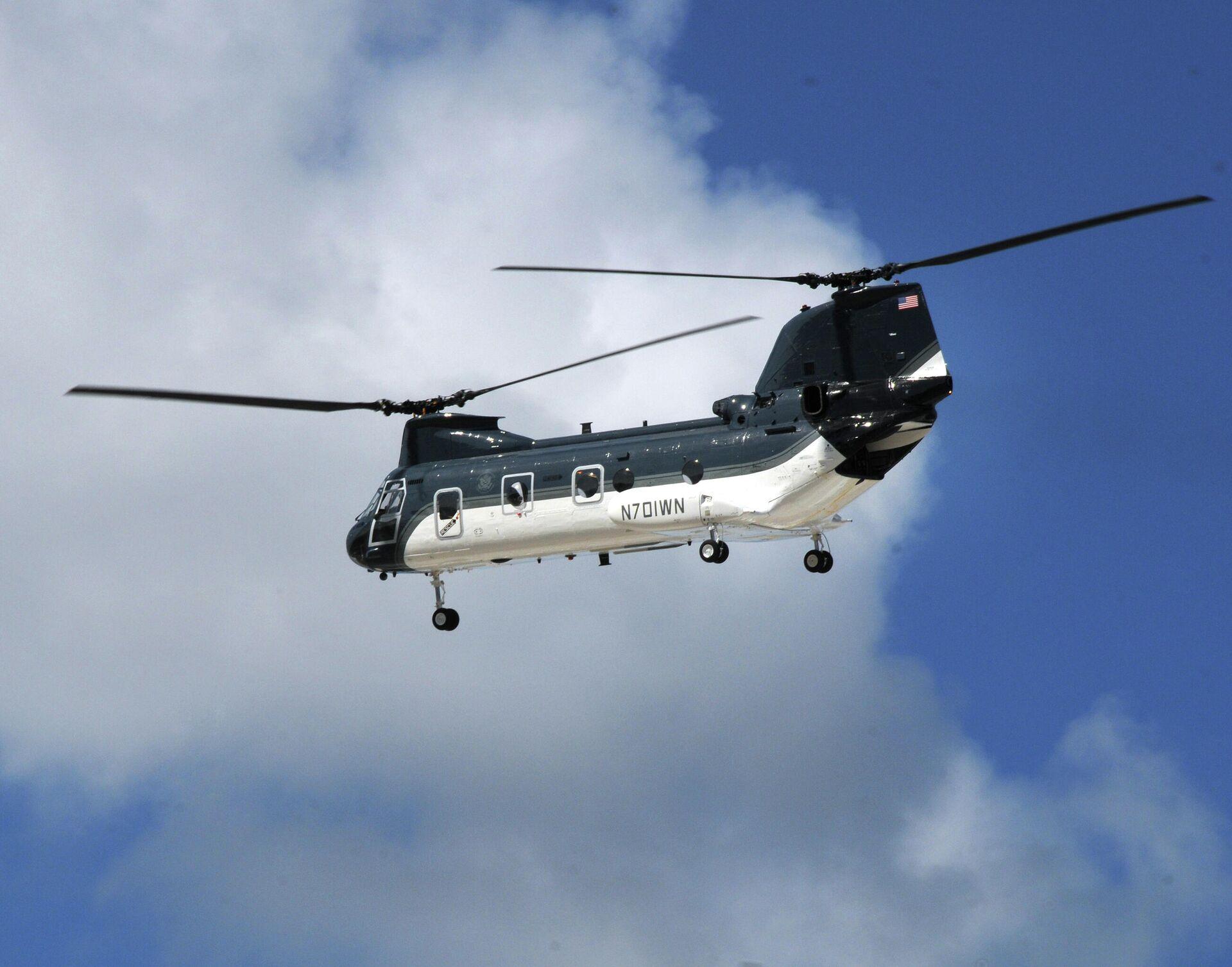 Un CH-46E del Departamento de Estado - Sputnik Mundo, 1920, 20.08.2021