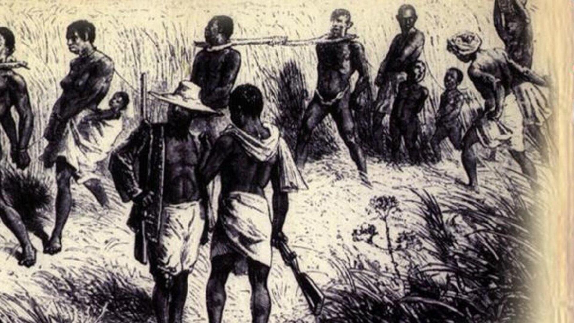 Grabado de la esclavitud - Sputnik Mundo, 1920, 23.08.2021