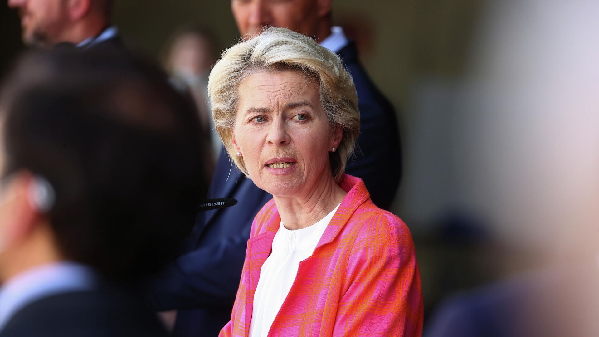 Ursula Von der Leyen, presidenta de la Comisión Europea - Sputnik Mundo, 1920, 21.08.2021