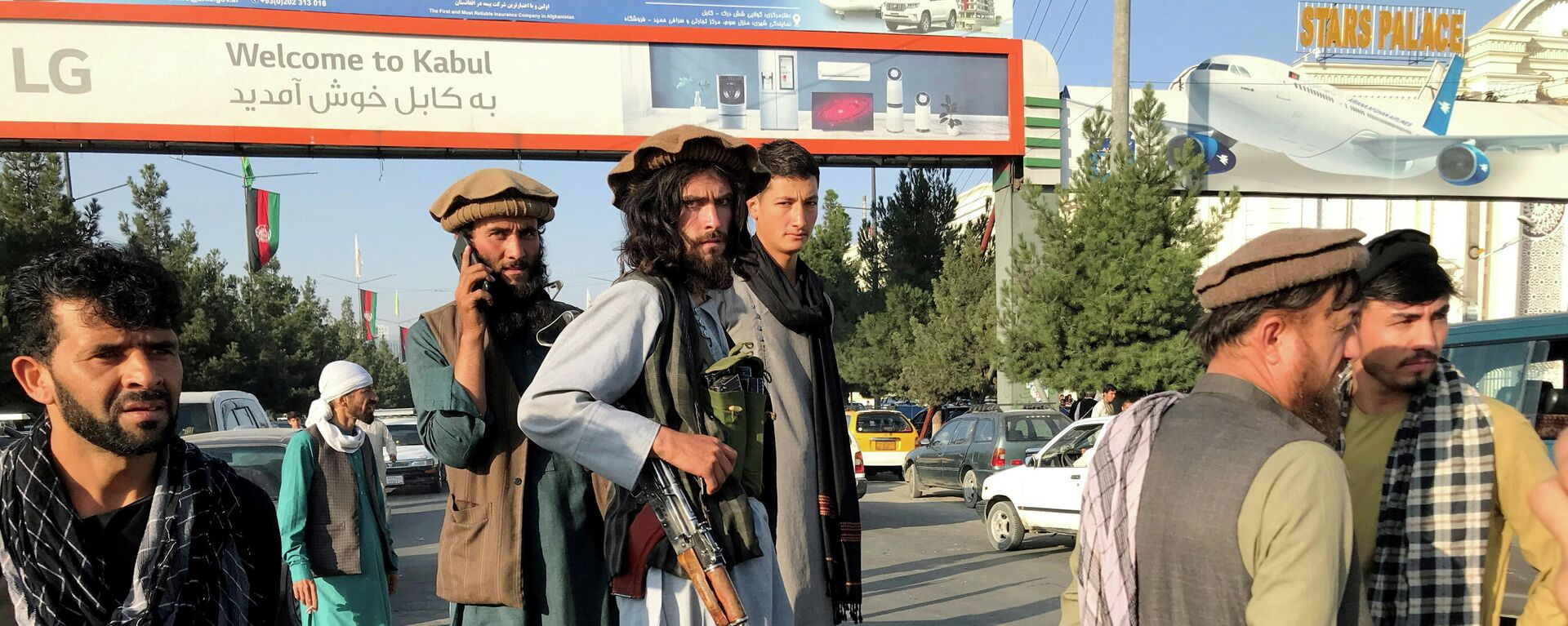 Los talibanes en Kabul, Afganistán - Sputnik Mundo, 1920, 21.08.2021