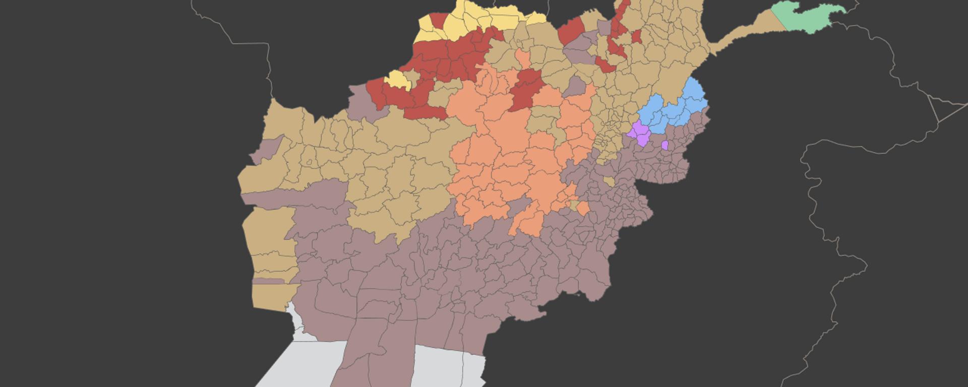Las etnias que conforman Afganistán - Sputnik Mundo, 1920, 23.08.2021
