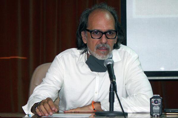 Nelson Ramírez de Arellano, director de la Bienal de La Habana - Sputnik Mundo