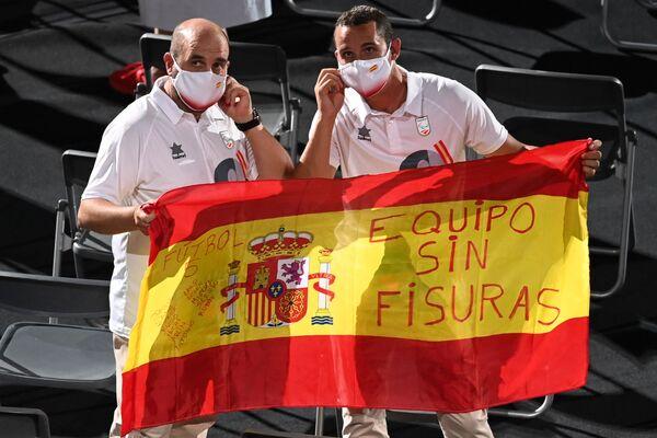 Miembros de la selección paralímpica de España en la ceremonia de inauguración de los Juegos Paralímpicos de Tokio. - Sputnik Mundo